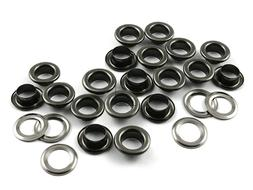 """1/4""""  Hole Grommets Eyelets with Washers Avail.4 Colors DIY"""