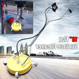 """18"""" Stainless Steel Pressure Washer Flat Surface Cleaner wit"""
