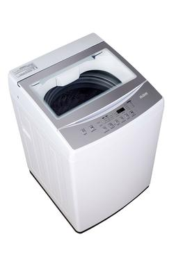 2.0 cu ft Portable Washer, White, 6 Automatic Cycles 3 Water
