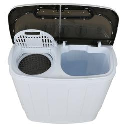 2-in-1 Portable Compact Mini 13LB Twin Tub Washer and Dry Sp