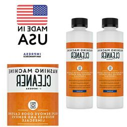 2 Pack Washing Machine Cleaner for All Washers Compatible Ma