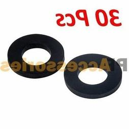 "30 Pcs 1"" inch OD O-Ring Hose Gasket Flat Rubber Washer Lot"