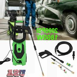 3000 PSI Electric High Pressure Washer 110V 1800W with Nozzl