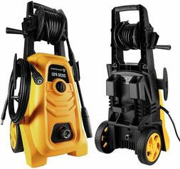 DEKOPRO 1800 PSI Electric Pressure Washer with Power Hose No