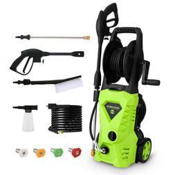 3000PSI 2.4GPM Electric Pressure Washer High Power Auto Jet