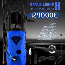3000PSI 2.4GPM Electric Pressure Washer Water Cleaner Machin