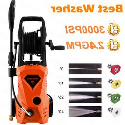 3000PSI 2.4GPM Electric Pressure Washer Water Cleaner High P