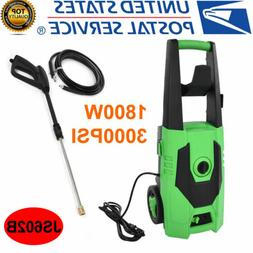 3000PSI High Pressure Electric Washer with Nozzle Gun Spray