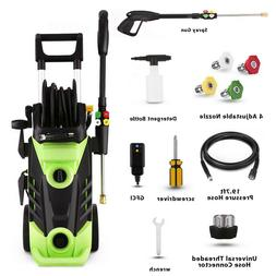 3500PSI 2.6GPM Electric Pressure Washer Cold Water Cleaner F