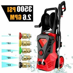 3500PSI 2.6GPM Electric Pressure Washer High Power Cold Wate