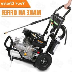 3600PSI 212CC Gas Pressure Washer 2.8GPM Petrol Powered Cold