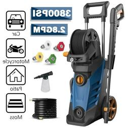 3800PSI 2.80GPM Electric Pressure Washer High Power Cold Wat