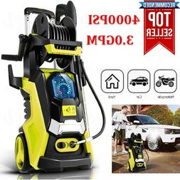 3800PSI 2.8GPM Electric Pressure Washer High Power Cleaner,W
