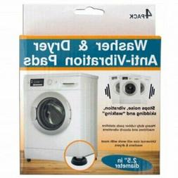 4pc Heavy Duty Clothes Washer & Dryer Anti-Vibration and Ant
