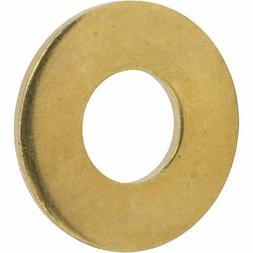"""5/8"""" Flat Solid Brass Flat Washers Commercial Standard Grade"""