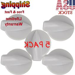 5PCS Washer Control Knob Fits FOR Whirlpool Kenmore 8181859/