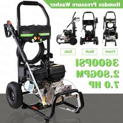 8HP 3950 PSI Gas Powered Pressure Washer Cold Water Cleaner