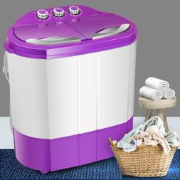 9.9LBS Top Load Washing Machine Compact Laundry Washer Dryer