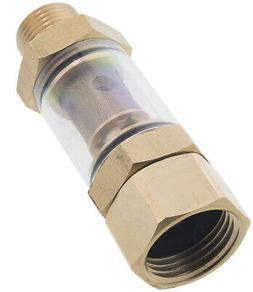 "Erie Tools Clear Inlet Water Filter Pressure Washer 1/2"" NPT"