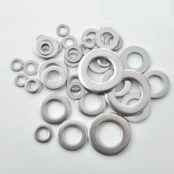 A4 316 STAINLESS STEEL FLAT WASHERS FOR METRIC BOLT&SCREW M3