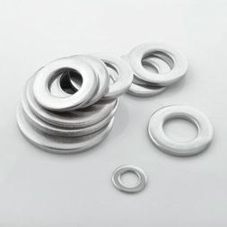 A4 316 STAINLESS STEEL FLAT WASHERS TO FIT METRIC BOLTS&SCRE
