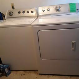 Maytag Bravos XL Washer and Dryer Set, Electric, Manufacture