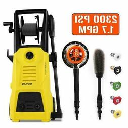 Electric Pressure Washer 2300 PSI 1.76 GPM High Power Cleane