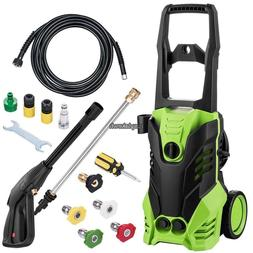 Electric Pressure Washer 3000PSI 1.7Gpm Heavy Duty 3 Types f