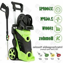 Electric Pressure Washer 3500 PSI 2.6 GPM Powerful Water Cle