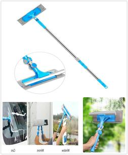 Extendable Window Squeegee Cleaning Tool Car Windshield Glas