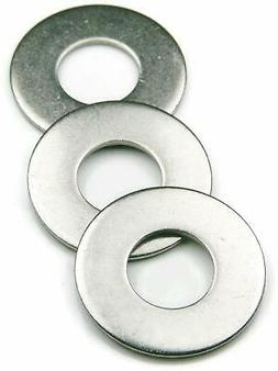 Flat Washers Stainless Steel 18-8 SAE Select Size & Quantity