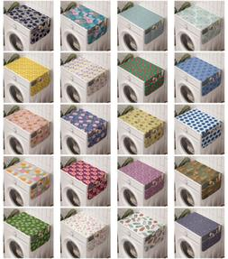 Ambesonne Floral Spring Washing Machine Organizer Cover for