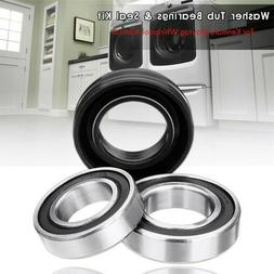Front Load Washer Tub Bearings and Seal Kit Replacement for