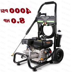 Homdox Gas Pressure Washer 3950 PSI at 3.0 GPM 8HP 212CC --