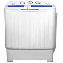 Goplus Portable Mini Compact Twin Tub 17.6lb Washing Machine