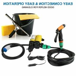 High Pressure Car Auto Electric Washer Kits Self-priming Was