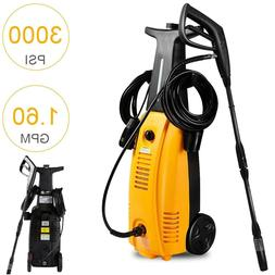 High Pressure Washer 3000 PSI Electric Sprayer Hot Water Was