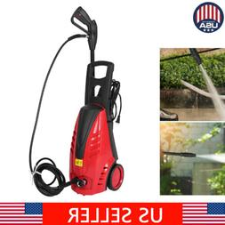 High Pressure Washer Electric Power Washer Red 1800W 110V