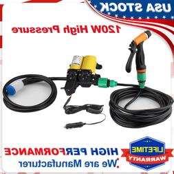 High Pressure Water Pump Gun Car Washer Portable12V Electric