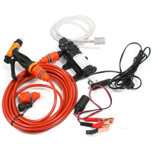 12V Electric Car Washer Kit Water
