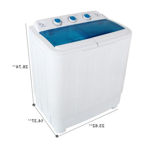 17Ibs Load Machine Compact Spiner laundry
