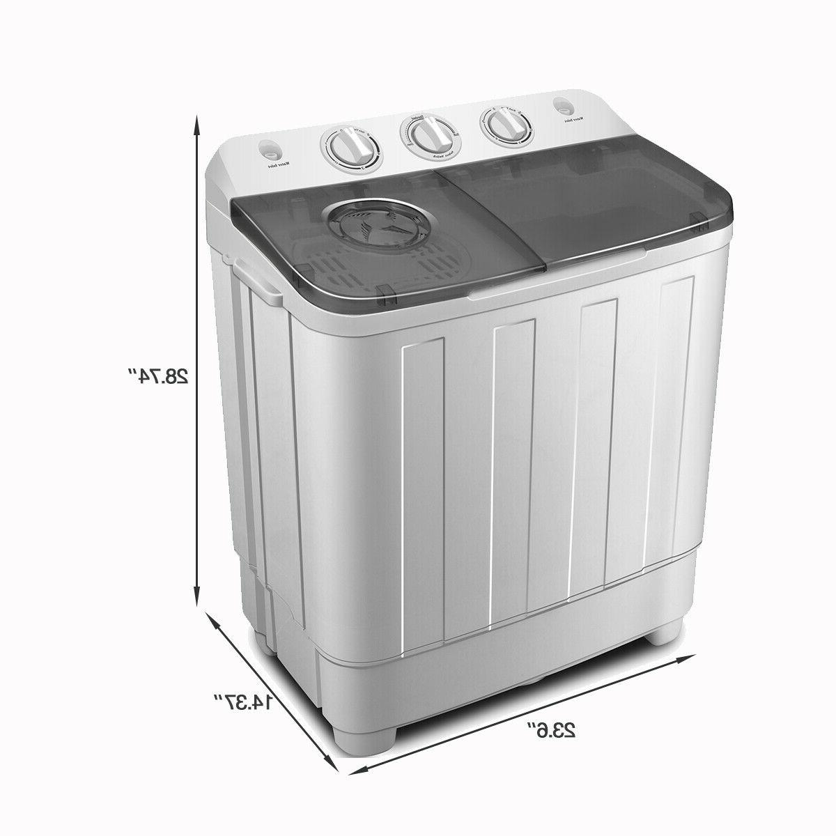 17LBS Top Machine Compact Laundry Dryer