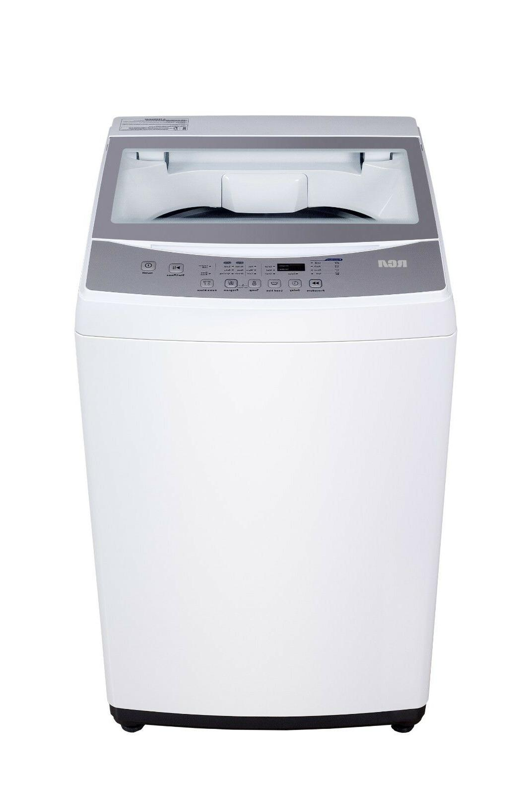 2.0 ft Washer, White, Automatic Cycles 3 Levels, Delay Start