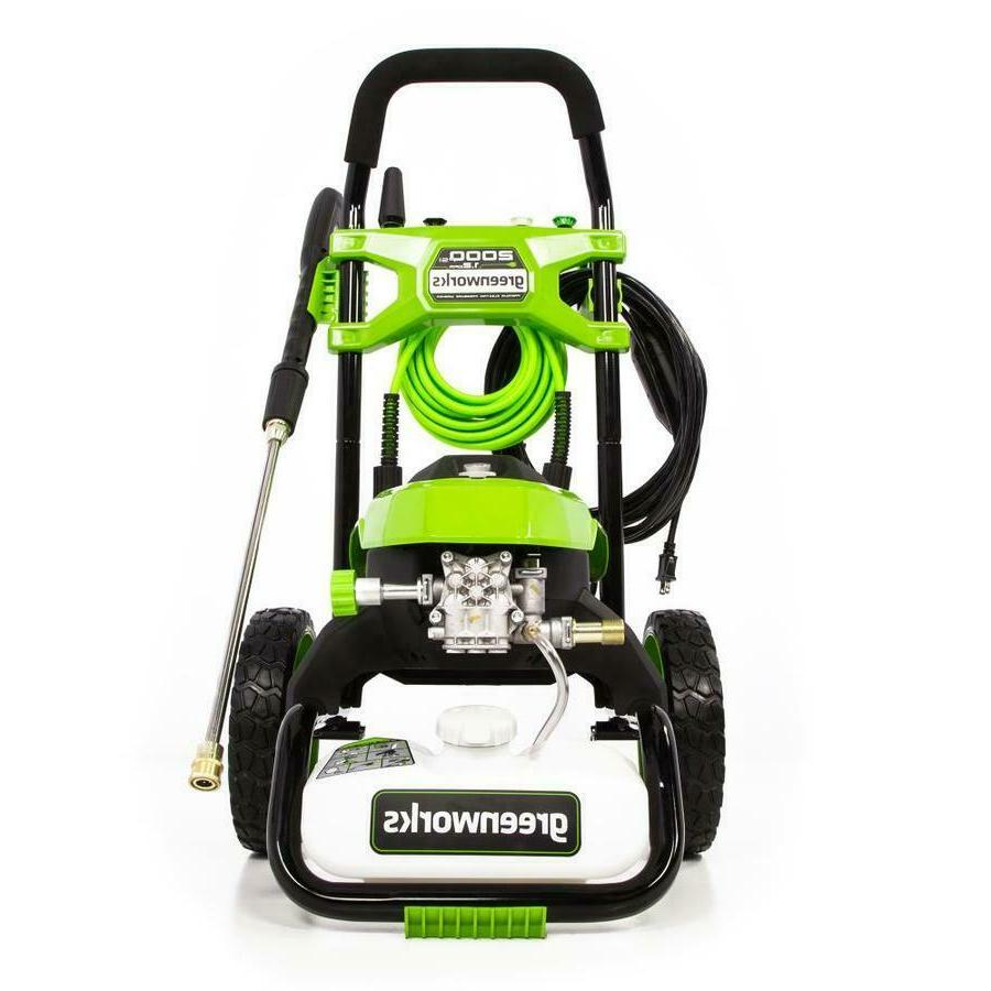 Greenworks 2000-PSI 1.2-GPM Cold Water Electric Pressure Was
