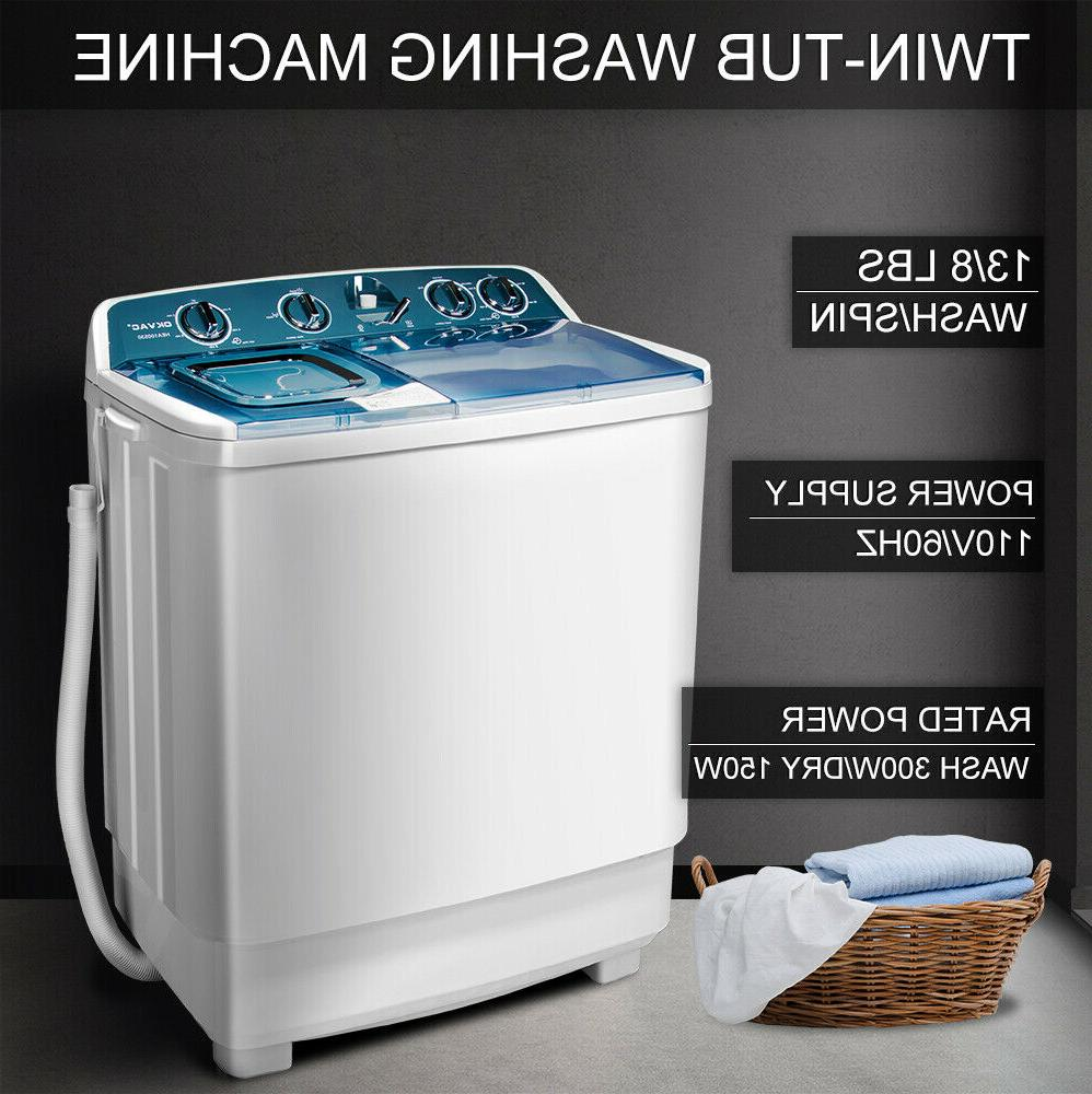 21 Semi-Automatic Washing Twin Tub Spiner Laundry