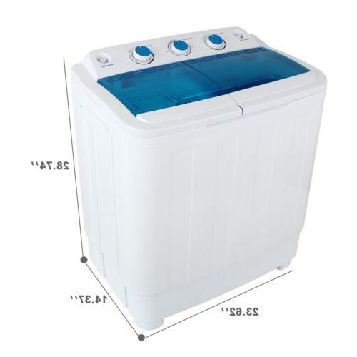 17Ibs Washing Compact Twin & Spin Dryer