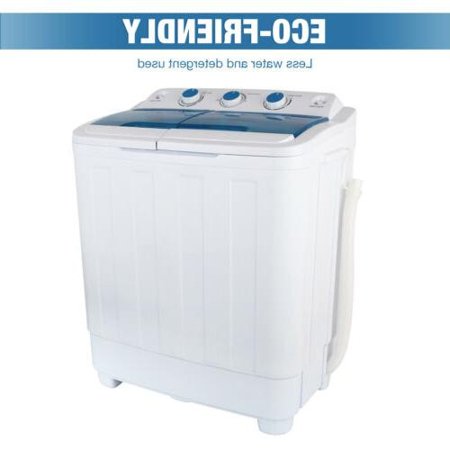 17Ibs Top Machine Compact Spiner Dryer Twin Tub laundry