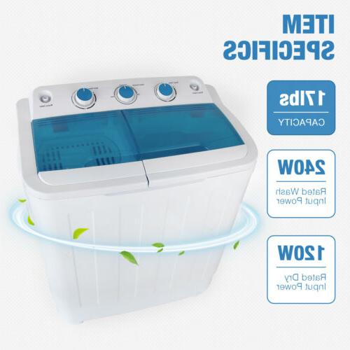 17Ibs Washing Compact & Spin