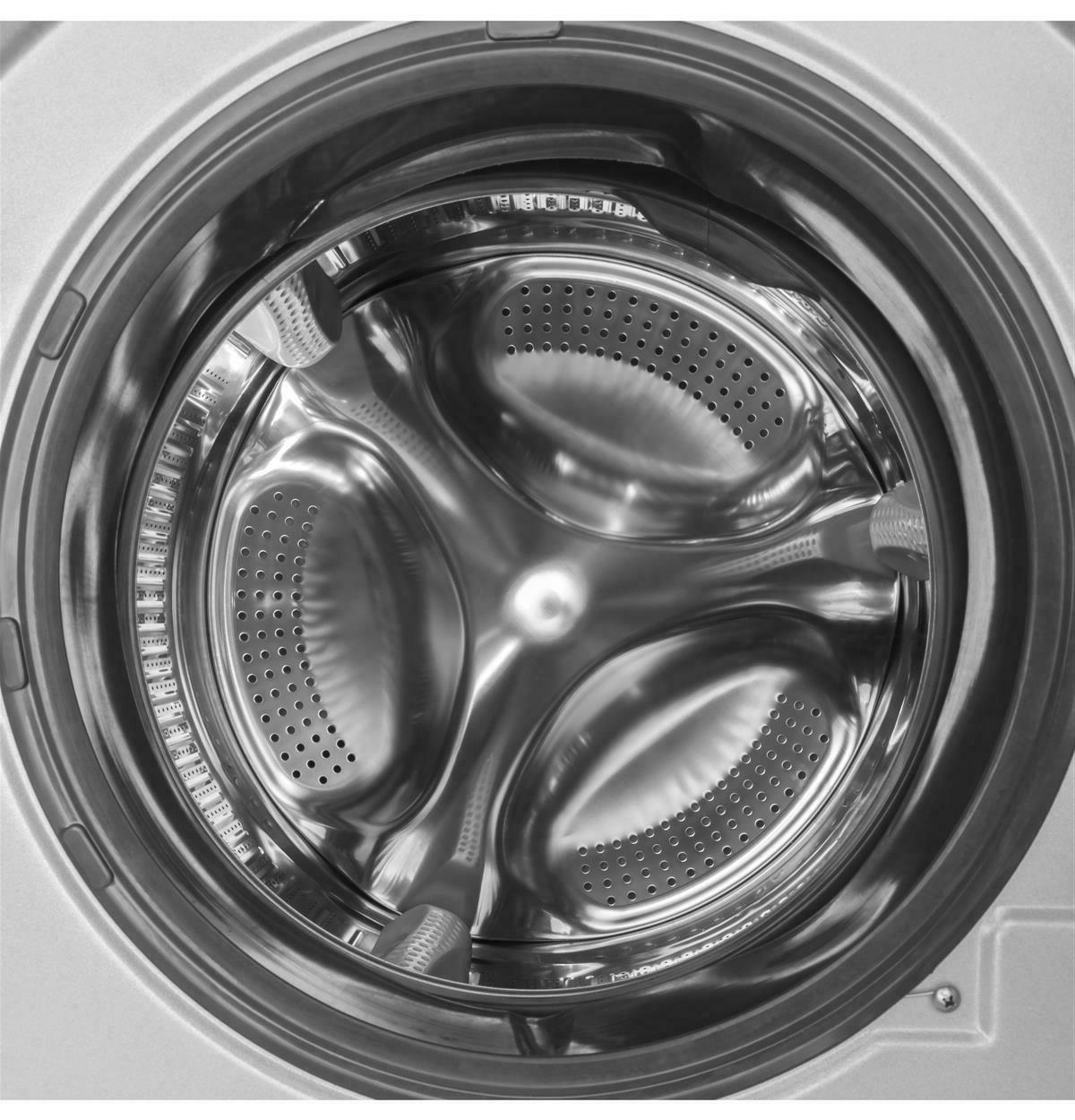 Haier 24-Inch Wide Load Washer/Dryer Silver HLC1700AXS