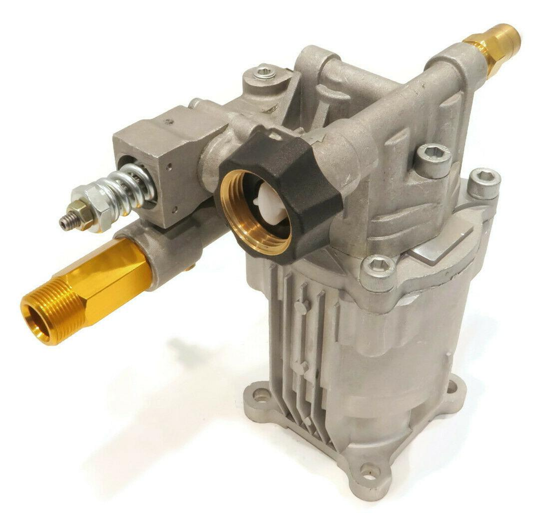 "2800-3000 PSI, 2.5 Pressure Washer Pump 3/4"" Shaft, Premium, Cold Water"